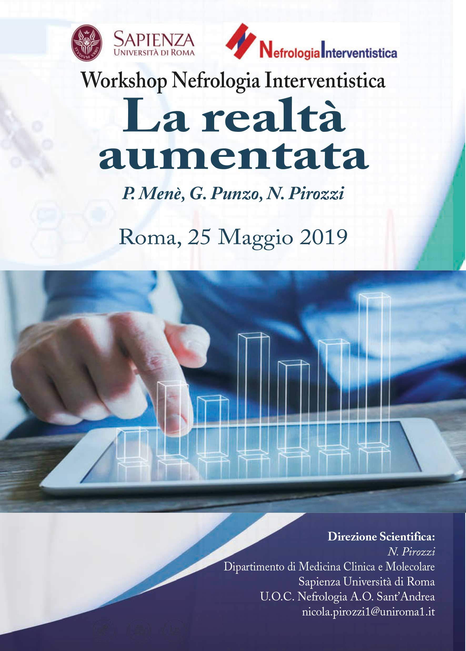Workshop Nefrologia Interventistica - Roma, 25 Maggio 2019